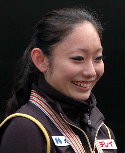 Miki Ando at the 2009 World Championship