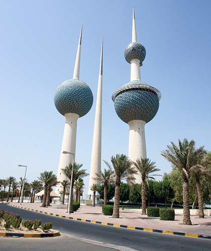 Kuwait: Kuwait Towers in Kuwait City