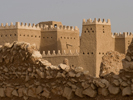 Desert Fortress in Saudia Arabia, West Asia