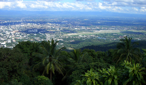 Chiang Mai City in the Chiang Mai Province of Thailand